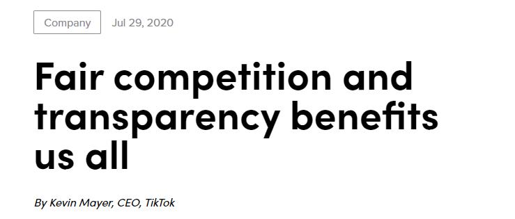 TikTok 美国业务或被迫出售!特朗普来硬的,微软接盘?网友:强盗行为